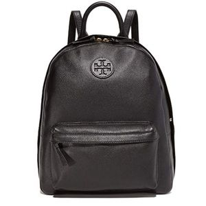 NWT Tory Burch Pebbled Leather Backpack